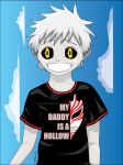 My Daddy is a Hollow - Son of Hichigo by khamarupa