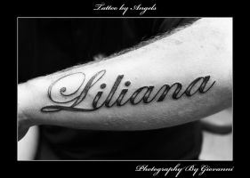 Tattoo Lettering by canuflybobby