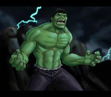 The Incredible Hulk by Mista-M