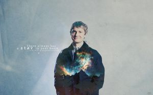 BBC Sherlock: Star(wallpaper size) by liangmin