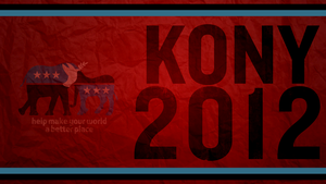 Kony 2012 - Wallpaper by GavinAsh