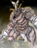 MEGALON: The Beetle God of Seatopia by AVGK04
