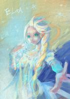 - Frozen elsa - by gallant11101110