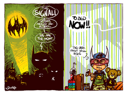Rise of Batmini by Heri-Shinato