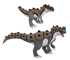 Dinosaur Fakemon by Promilie