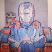 Iron patriot by jorgecopo