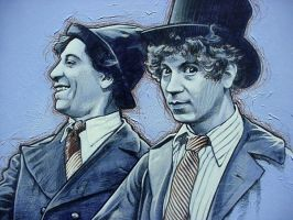 Marx Brothers - close up 2 by PENICKart