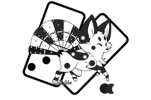 Domino Ref by Belliko-Art BG by TheQueenMox