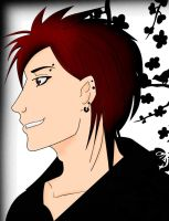 My red-haired boy by Nayou