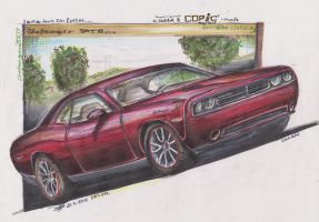 Challenger SRT8 by HorcikDesigns
