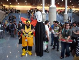 Anime Expo Henchman and No Face by DelphiniumFleur