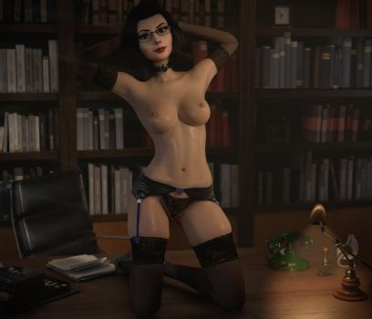 Working Late by Pseudonym3D