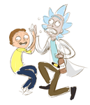 Rick And Morty Forever by rainue