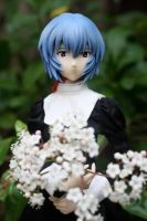 Rei with Spring Flowers by here-and-faraway