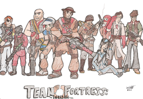 Team Fortress: Invasion by Foshi64