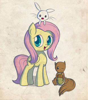 Fluttershy test by Xasthurr