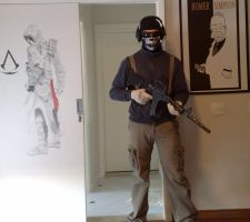 GHOST MW2 COSPLAY by hicpic