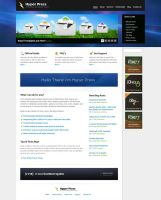 HyperDesk PSD Theme by bestofthemeforest