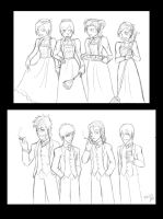gentlemen and maids by feerl