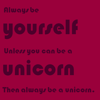 Be a unicorn by x--apple--x