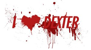 Blood Splatter Heart Dexter by carlaxcore