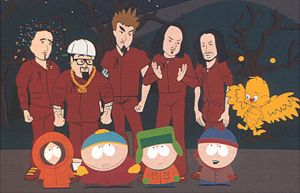 The KoRN in South Park by Matal80