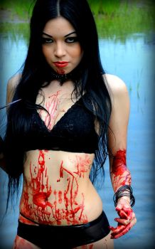 baptised in blood by Persephonebleeds