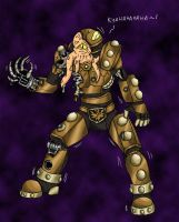 Dalek Caan the Mad by FlamedramonX20