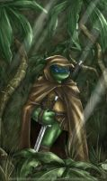 Ghost of the Jungle - TMNT art by LiKovacs