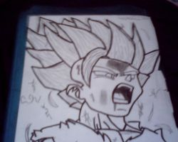 SS2 Gohan by beartic9871