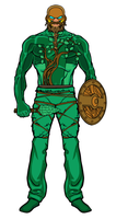 First Ancienger- Green Gaul by TeiOuja