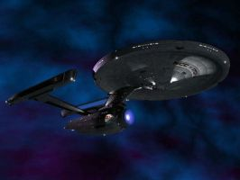 The USS Enterprise NCC-1701-A by CaptainMario