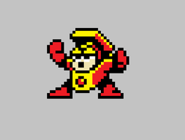 heatman sprite by agarios96