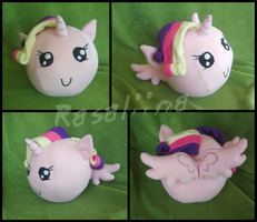 MLP:FiM - Princess Cadance ball plushie by Rasaliina