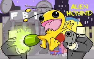 Alien Hominid by Blackout-Comix