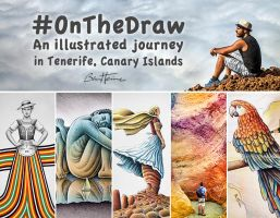 #Onthedraw - An Illustrated Journey in Tenerife by BenHeine