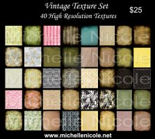 Vintage texture set 7 by chupla