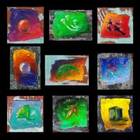 Small Paintings by Verdego