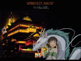 Spirited Away by CanyonDragon