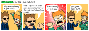 EWCOMIC No. 202 - Junk Sale Pt2 by eddsworld