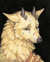 Sad Doge by Shadow-Wolf