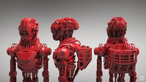 Red Lobsters by Andrew-Lim
