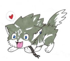 link wolf puppy by CRSNESS