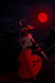 Madara moon by L-rj