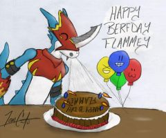 Happy Berfday Flammey :3 by OTC-Hulon