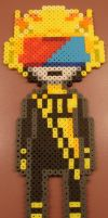 Mituna Captor Perler by Blackshadowbutterfly