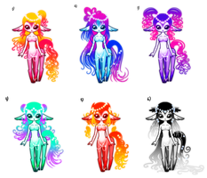 Magic Centaury Girls Adoptables CLOSE by YukiMiyasawa