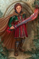 Noble Swordbearer by CarrieBes by Realm-of-Fantasy