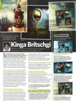 Interview in Photoshop Creative - Issue 92 by KingaBritschgi