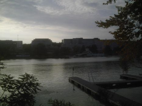 quinsigamond lake Worcester MA by vorerabbit